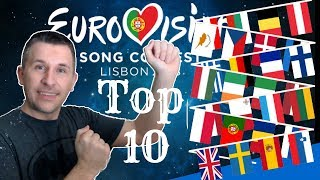 Video Eurovision 2018 - My Top 10 (With Reaction) MP3, 3GP, MP4, WEBM, AVI, FLV September 2018