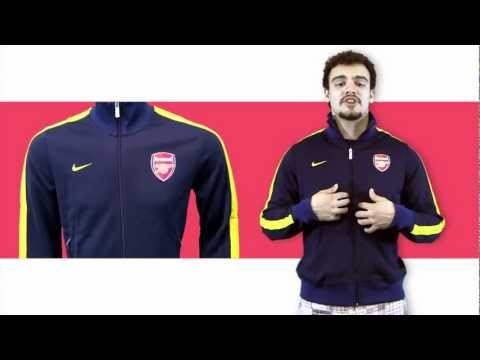 Arsenal N98 Track Jacket Video GIVEAWAY - SoccerPro.com