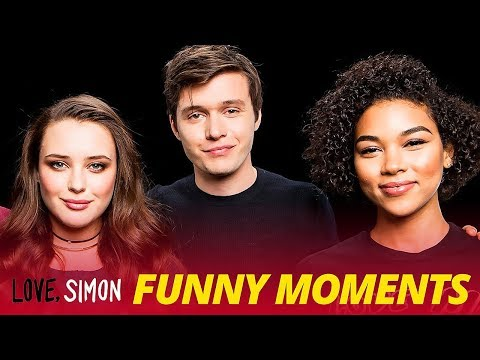 'Love, Simon' Bloopers Funny Moments - Nick Robinson & Katherine Langford