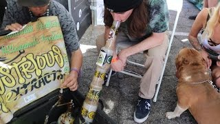 ONE GRAM DAB AT CANNABIS CUP 2017 by RawOG420