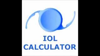IOL CALCULATOR YouTube video