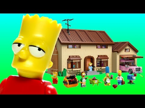 Animated LEGO Simpsons House 71006 Flash Speed Build
