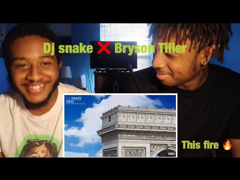 "DJ SNAKE ""Smile"" Ft. Bryson tiller (Reaction) 🤔"