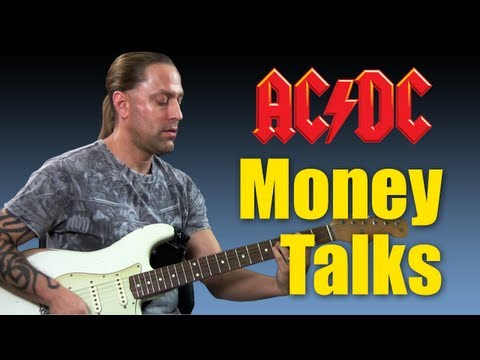 "Guitar Cover - Learn How To Play ""Moneytalks"" By ACDC (Guitar Lesson)"