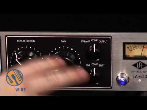 Universal Audio LA-610 Channel Strip Demonstration On Vocals