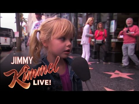 WATCH: Jimmy Kimmel Asks Kids About Dirty Words!