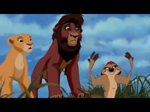 The Lion King 2 Simba's Pride   Hunting Lesson HD