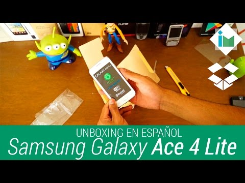 Samsung Galaxy Ace 4 Lite - Unboxing en español
