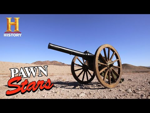 Pawn Stars: EXPLOSIVE DEAL for EXPENSIVE Antique Cannon (Season 17) | History