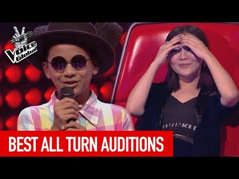 The Voice Kids | Best ALL TURN Blind Auditions worldwide [PART 3]