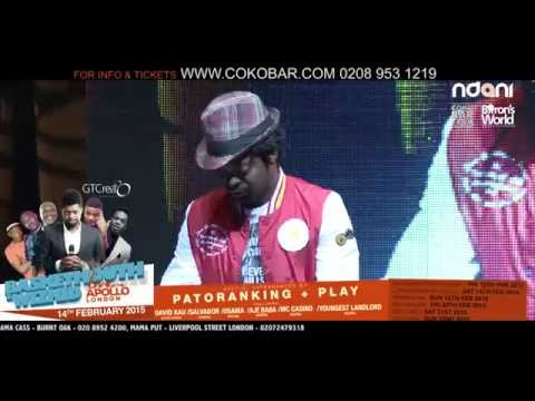 BASKETMOUTH - ZAMBIANS' INCREDIBLE SPEED - BASKETMOUTH LIVE AT THE APOLLO - 14TH FEB 2015
