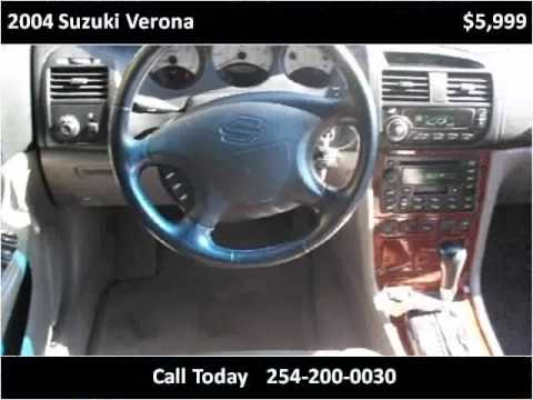 2004 Suzuki Verona Used Cars Killeen TX