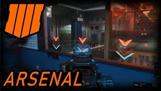 "(GAME PLAY) NEW Multiplayer Map ""Arsenal"" Black Ops 4 (Gamescom 2018)"
