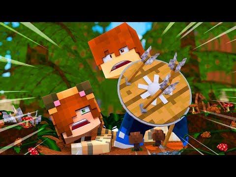 Minecraft Dragons - TINA'S HERO !? (Minecraft Roleplay - Episode 2) (видео)