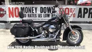 7. 2016 Harley Davidson Heritage Softail - 2018 Heritage Softail Specs coming soon