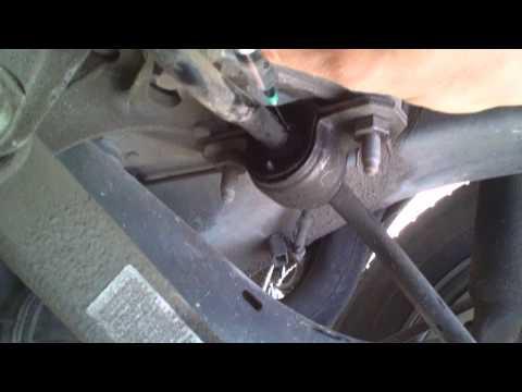 lubrificare  i supporti della barra di torsione