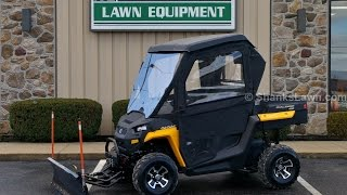2. Cub Cadet Challenger 400 Equipped with Soft Cab & Angle Blade