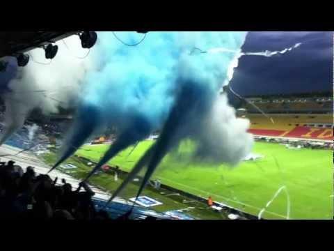 Salida Millonarios FC (HD) - Comandos Azules - Millonarios