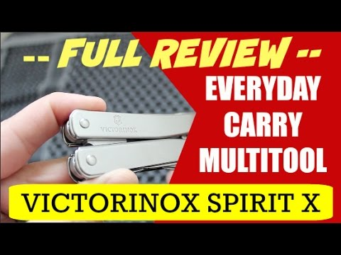 Everyday Carry Multi Tool Review | Victorinox SwissTool Spirit X | Best EDC Multi Tool?