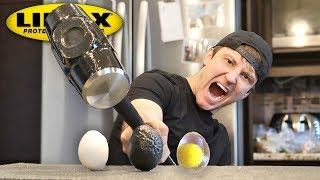 Video THIS SPRAY MAKES ANYTHING UNBREAKABLE!! (LINE-X EGG EXPERIMENT) As Seen On TV Test! MP3, 3GP, MP4, WEBM, AVI, FLV Agustus 2018