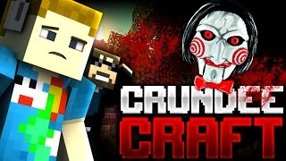 Minecraft: SAW IN MINECRAFT TROLL | CRUNDEE CRAFT