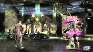 Injustice: Gods Among Us - Joker vs. Lex Luthor Gameplay