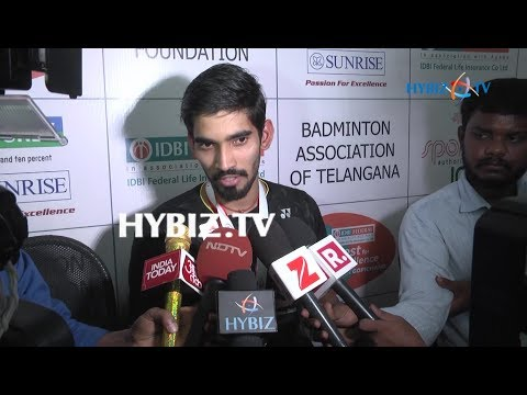 , Kidambi Srikanth Felicitation Ceremony