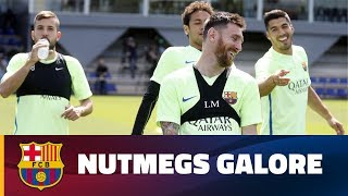 Best nutmegs in training in 2016/2017