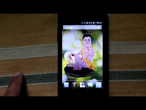 Video of Krishna 3D Live Wallpaper