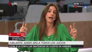 Jubilados: ANSES apela todos los juicios