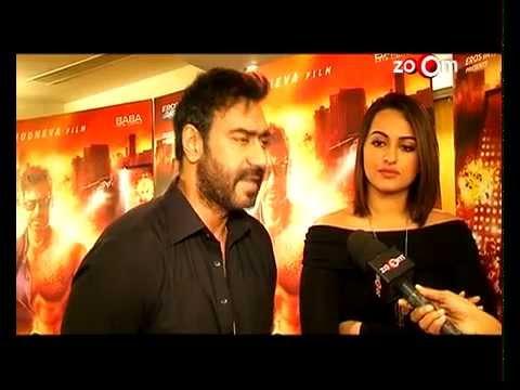 Ajay Devgan defends Sonakshi Sinha!