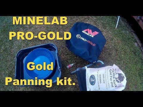 Pro gold panning kit