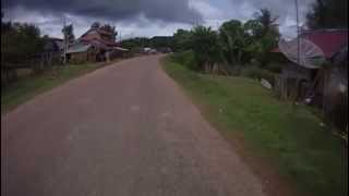 Thalat Laos  city pictures gallery : Lao Route 10 to Thalat on Bike. Laos