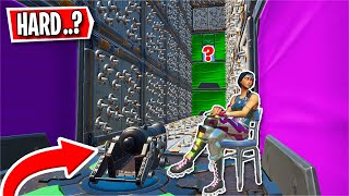 This HARD Deathrun was actually SUPER easy... (Fortnite Creative)