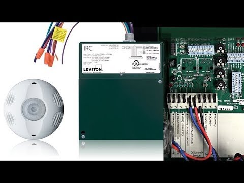 Leviton IRC: How to Wire an Occupancy Sensor