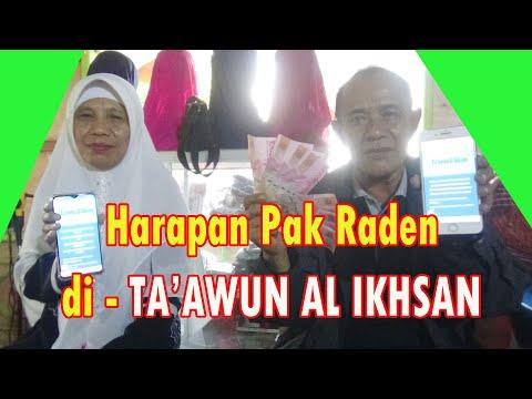Harapan Pak Raden Bergabung 10 Akun II TA'AWUN AL IKHSAN