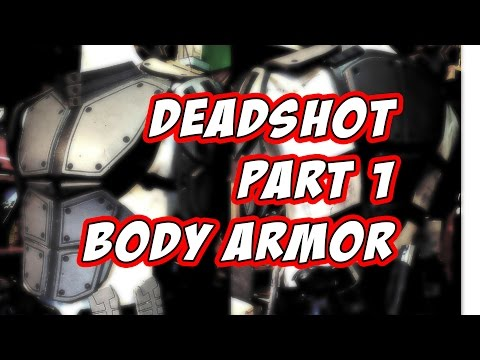 Deadshot Suicide Squad Cosplay Costume How to DiY part 1