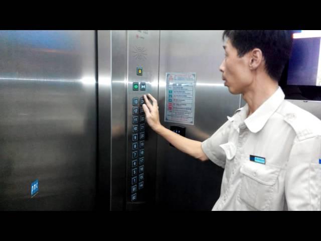 Cách sử dụng thang máy trong tòa nhà