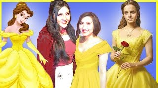 Beauty and the beast belle makeup tutorial! We went to watch the new Beauty and the beast movie live action movie! It was sooooooo good!!!!!! 😍💗😍💗💗Princess Belle is one of my favorite princesses, Snow White is my number 1.