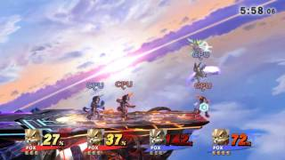 I tried to recreate Melee in Smash 4. It did not end well.