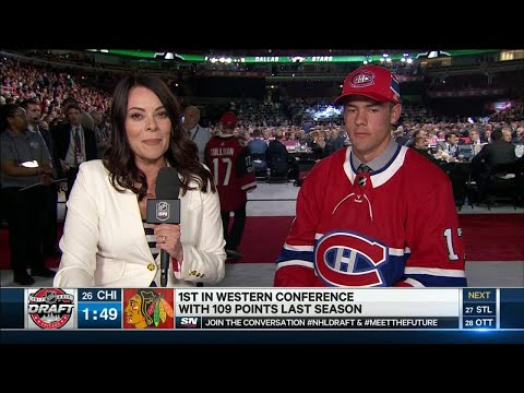 Canadiens pick almost confuses Toronto for Montreal