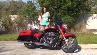 3. New 2014 Harley Davidson CVO Road King Motorcycles for sale 2015 Models Arriving August 2014