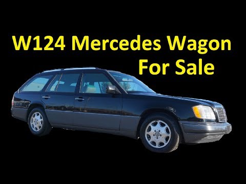 1995 MERCEDES BENZ STATION WAGON W124 ~ 1 OWNER FOR SALE