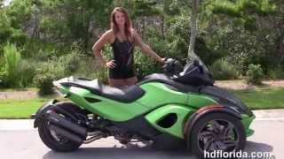 2. Used 2013 CAN AM Spyder RSS SE5 Trike for sale in Florida & Alabama