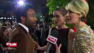 Video Donald Glover Encounters His 'Biggest Fan' on the Golden Globes Red Carpet 2017 MP3, 3GP, MP4, WEBM, AVI, FLV Desember 2017