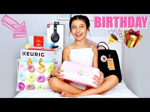 What I got for my 13TH Birthday  | BIRTHDAY HAUL 🎁🎧 (видео)