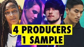 Video 4 PRODUCERS FLIP THE SAME SAMPLE feat. Virtual Riot, Bad Snacks, Sarah the Illstrumentalist MP3, 3GP, MP4, WEBM, AVI, FLV Februari 2019
