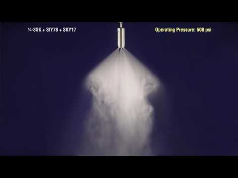 Multi Orifice 3SK SprayDry® Nozzle from Spraying Systems Co