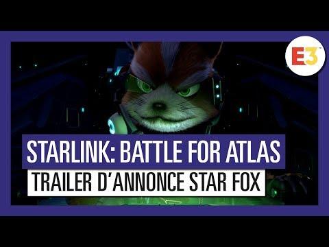 Starlink Battle for Atlas - Trailer d'annonce Star Fox - E3 2018 - VOSTFR HD