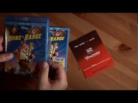 BONUS VIDEO!!! File91e Unboxes Treasure Planet And Home On The Range